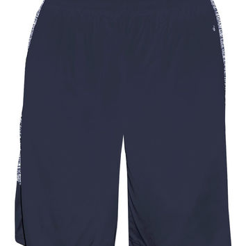 Badger 2195 Blend Panel Youth Short - Navy Navy Blend