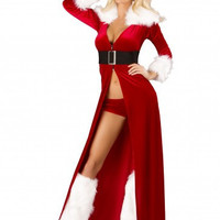 Roma Costume C170-3pc Sexy Miss Claus