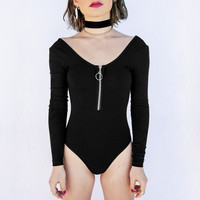 Long Sleeve Tease Body Suit