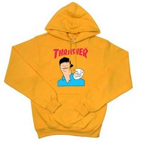 Thrasher Gonz yellow Hoodies