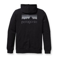 Patagonia Phone Home Mens Zip-Up Hooded Sweatshirt in Black (27542-LLL)