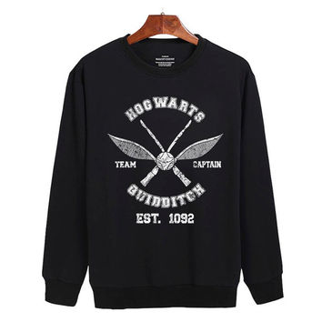 Harry Potter Hogwarts Sweater sweatshirt unisex adults size S-2XL