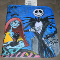 OOAK Nightmare Before Christmas Jack & Sally Ipad Tablet 1 2 3 Carry Case Protector Painted