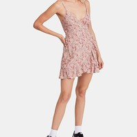 Free People All My Love Printed Wrap Dress & Reviews - Dresses - Women - Macy's