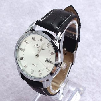 Men's Luxury Sport Analog Leather Banded Watch