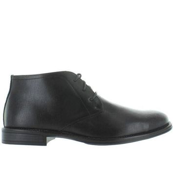 ONETOW Deer Stags Mean - Waterproof Black Leather Chukka Boot