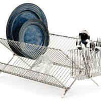 Endurance® Stainless Steel Compact Folding Dish Rack