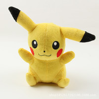 8 Inch(20cm) Poke Pokemon Pikachu Plush dolls toys children Pikachu Charmander Jeni turtle Poke Ball Plush dolls toy