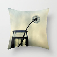 make a wish Throw Pillow by ingz