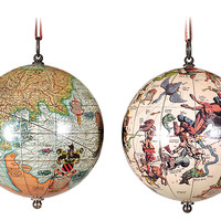 The Earth & the Heavens, Globes