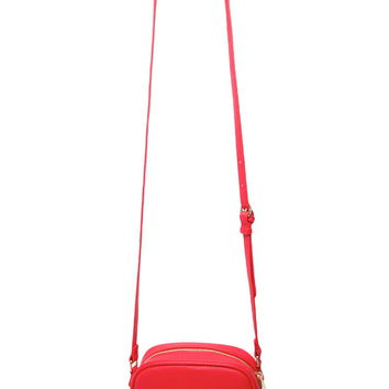 Faux Leather Crossbody | Forever 21 - 1000186279