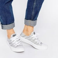 Converse Knit Ox Chuck Taylor All Star II White Plimsoll Trainers