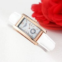 8DESS LONGINES Women Fashion Quartz Movement Wristwatch Watch