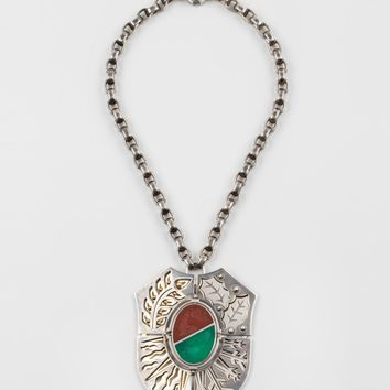 "ELIE TOP ""Fire/Water Blazon"" Necklace"
