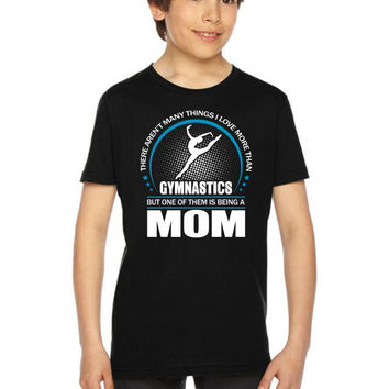 Gymnastics Mom - Mother's Gifts - Mother's Day Youth Tee