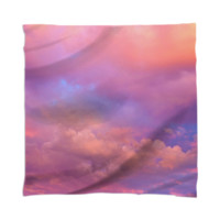 See the Dawn (Dawn Cloud Abstract) Scarf / Mini Wall Tapestry created by soaringanchordesigns   Print All Over Me