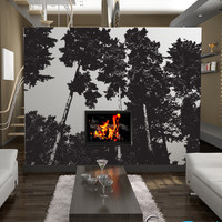 Vinyl Wall Art Decal Sticker Trees #857