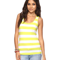 Racerback Rugby Stripes Tank