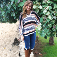 Bundle Up Knit Poncho