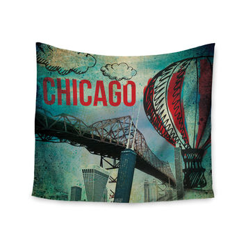 "iRuz33 ""Chicago"" Wall Tapestry"