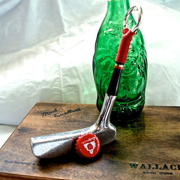 Golf Club Bottle Opener made out of a Vintage Wilson Super-Stroke Putter