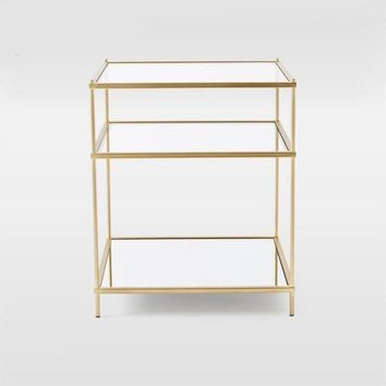 Stalinite Bedside Table