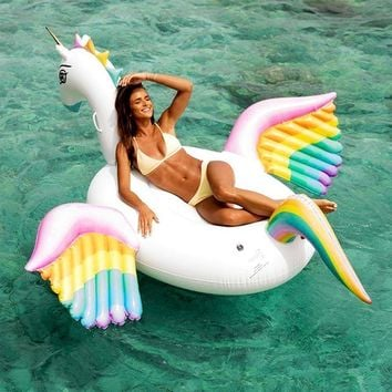 250cm Giant Pegasus Inflatable Pool Float