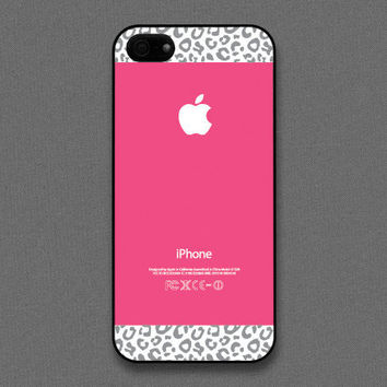 iPhone 5 case  Hot pink Leopard Pattern cases  also by evoncase