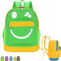 2017 New Cartoon Children's Bags Canvas Cute Backpacks for Primary Students Lovely Children School Bag School Supplies Mochila