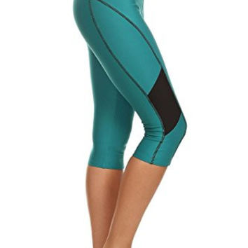 Always Metallic Blue High Waist Sports Leggings