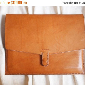 ON SALE 30% OFF Personalized iPad Air / iPad 2 Case - Leather - Harlex Hand Stitched