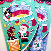 Christmas Cheer Darice Sticker Book - SB54