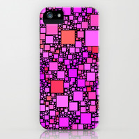 Post It Pink iPhone & iPod Case by Alice Gosling