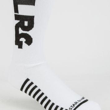 Lrg X Star Wars Mens Socks White One Size For Men 26874715001