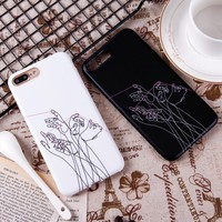 Fashion Phone Cases for iPhone 7 6 6S Plus Capa Women Men