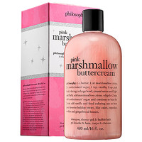 philosophy Pink Marshmallow Buttercream Shampoo, Shower Gel & Bubble Bath (16 oz)