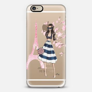 Printemps a Paris (Brunette) iPhone 6 case by Josefina Fernandez | Casetify
