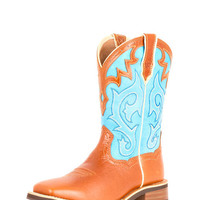 Ariat Women's Unbridled Boot - Coyote Brown/Cielo Blue