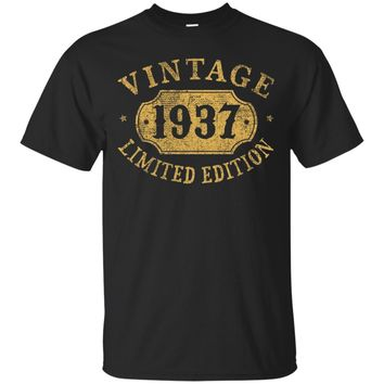 1937 80 years old 80th B-day Limited Birthday Gift T-Shirt