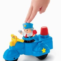 Fisher Price Little People Police Scooter