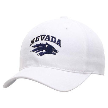Nevada Wolf Pack Essential Adjustable Hat - White