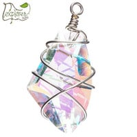 Wire-Wrapped Crystal Pendant | Hobby Lobby | 1073758