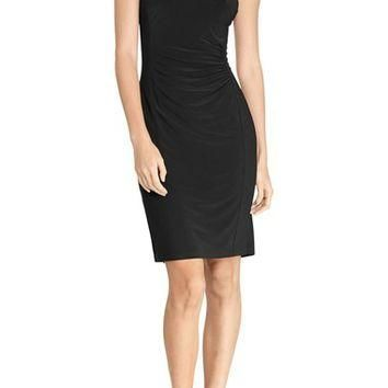 Lauren Ralph Lauren Beaded Jersey Sheath Dress | Nordstrom