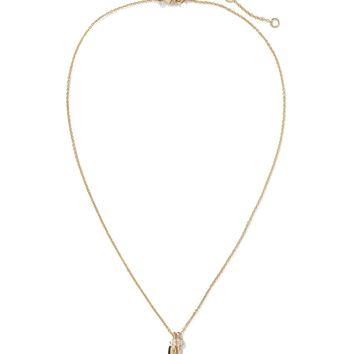 Champagne Charm Pendant Necklace|banana-republic