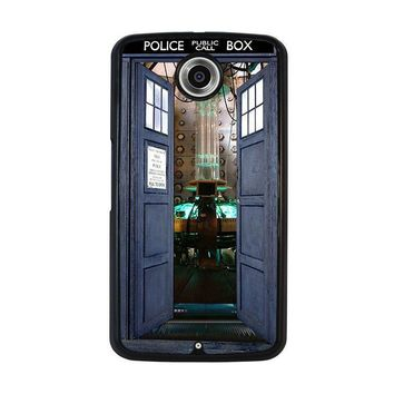 dr who tardis open the door nexus 6 case cover  number 1