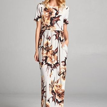 Melissa Floral Maxi Dress