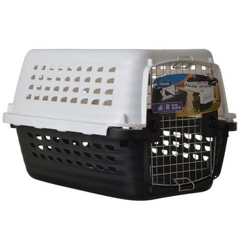 Petmate Compass Kennel -  Black & White