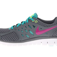 Nike Flex 2013 Run Armory Slate/Club Pink/Flash Lime - Zappos.com Free Shipping BOTH Ways