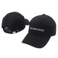 Balenciaga Embroidered Sports Baseball Cap Hat