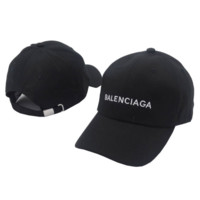 Balenciaga Embroidered Outdoor Baseball Cap Hats